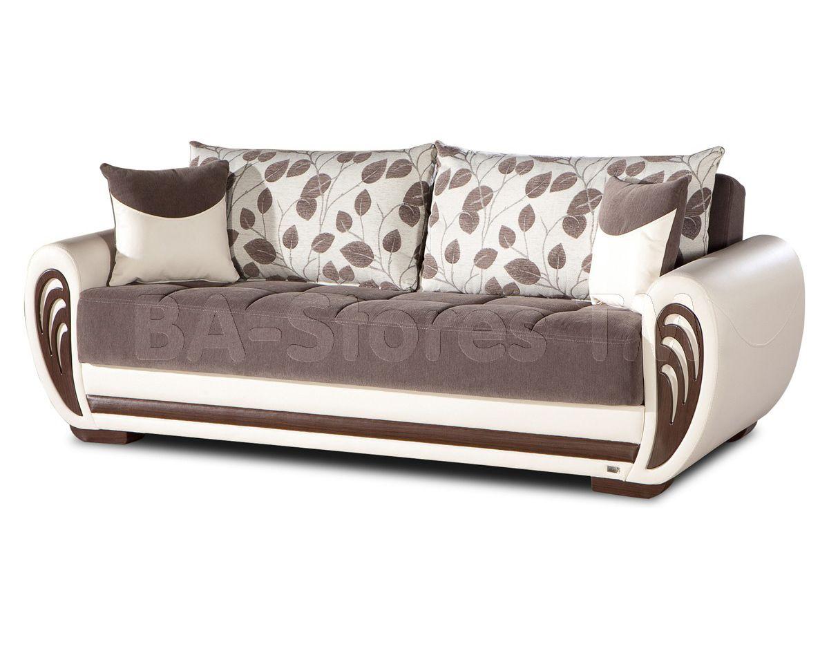 Marina Sofa Sleeper in Armoni Brown by Istikbal Sofa beds by