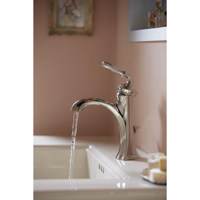 Kohler KBN Devonshire Vibrant Brushed Nickel One Handle - Kohler devonshire bathroom faucet brushed nickel