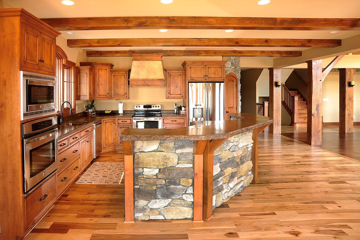 kitchen with island timber frame kitchens search kitchens to 10658