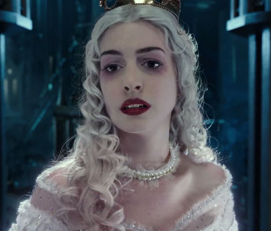 Alice Through The Looking Glass: The White Queen-she Is So