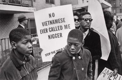 Vietnam war protest.