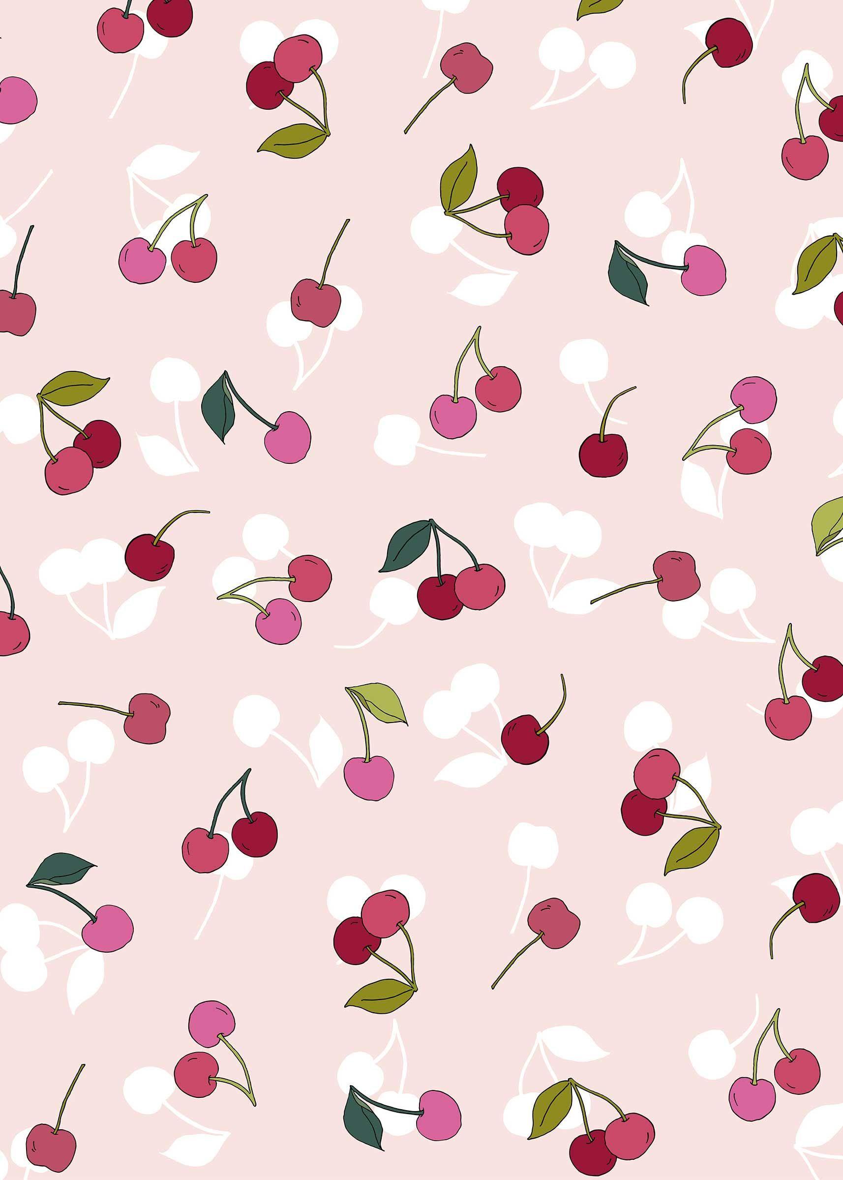 Cherry Desktop Wallpaper Free Download For Desktop Ipad And Iphone Cute Wallpapers For Ipad Ipad Pro Wallpaper Fruit Wallpaper