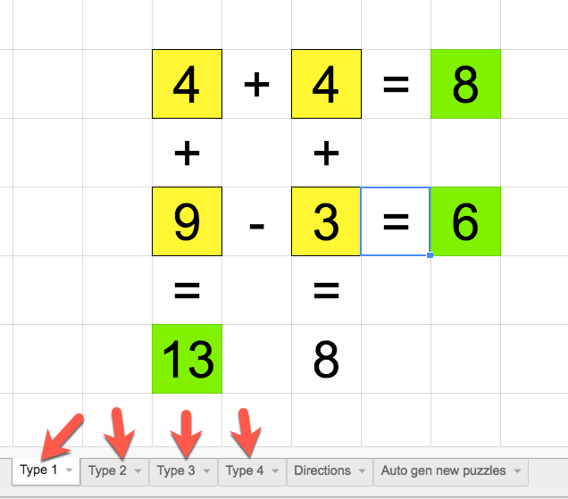 Math Puzzles With Google Sheets This Is Brilliant Maths Puzzles Teacher Tech Math Apps