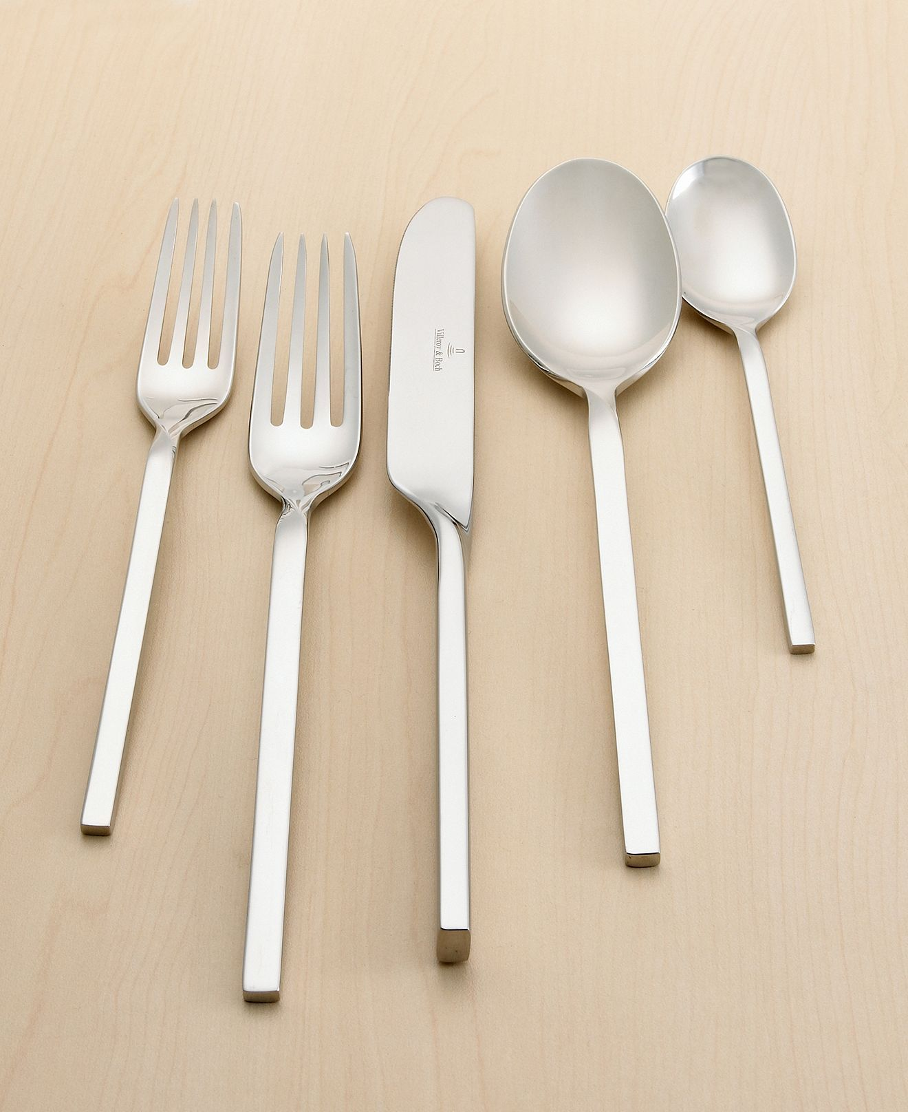 Villeroy and boch new wave set - Villeroy Boch New Wave Place Setting Flatware Silverware Dining Entertaining Macy S Bridal And Wedding Registry