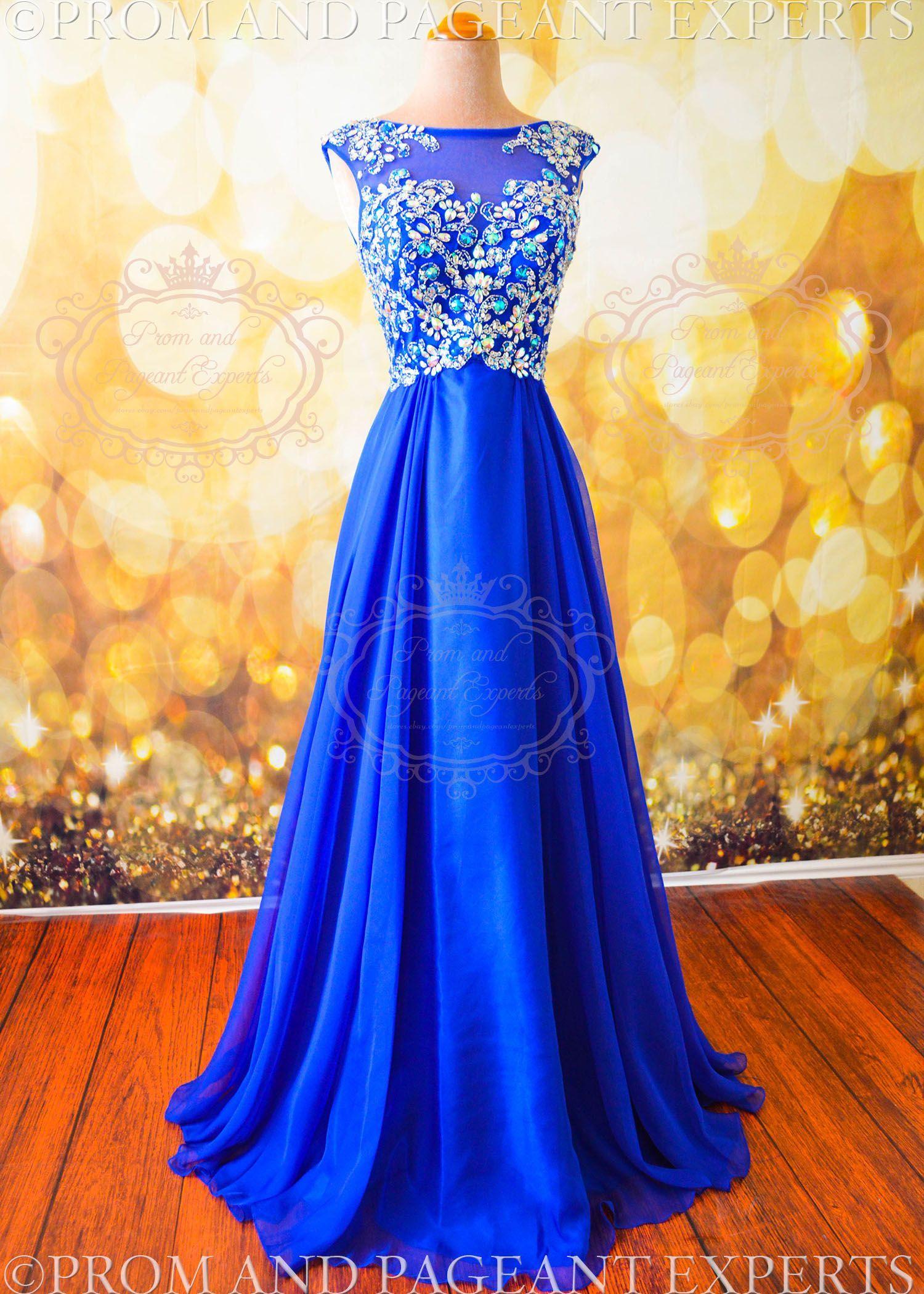 Wedding gown royal blue rosaurasandoval wedding dresses