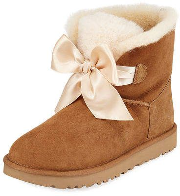 f01717a2eec Gita Bow Mini Boots in 2019 | shopping list | Uggs, Boots, Uggs on sale