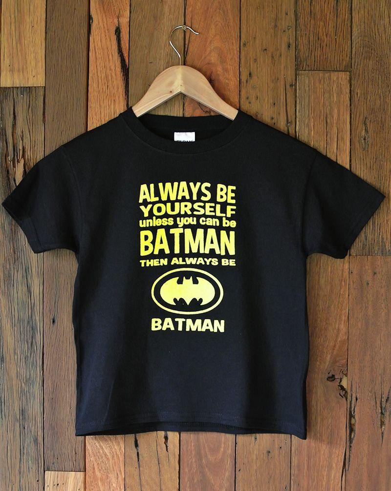 Childrens T Shirt Batman Batman T Shirt T Shirt Shirts