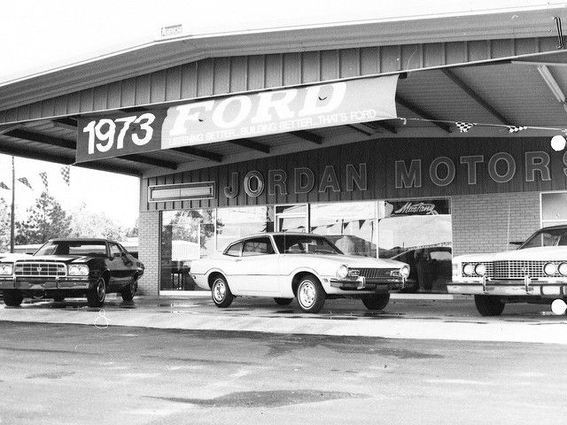 Jordan Motors Ford San Antonio Tx 1973 Car Dealership Ford Used Car Lots