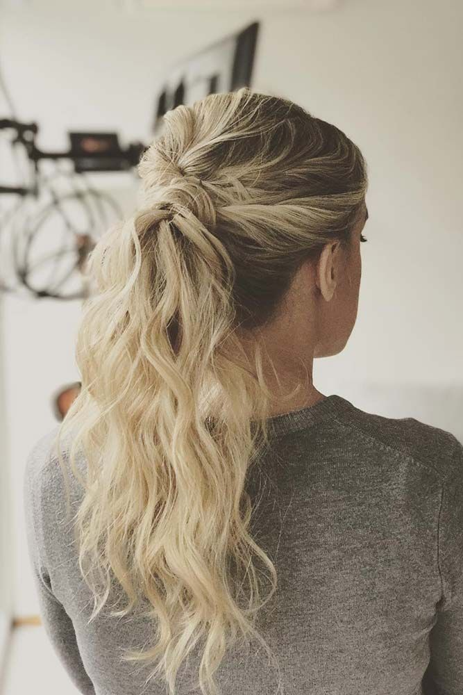 100 Different Ponytail Hairstyles To Fit All Moods And Occasions | Sporty hairstyles, Diy ...