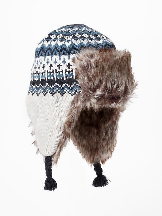 Fair isle trapper hat Product Image | Yarn, Knitting Crochet ...