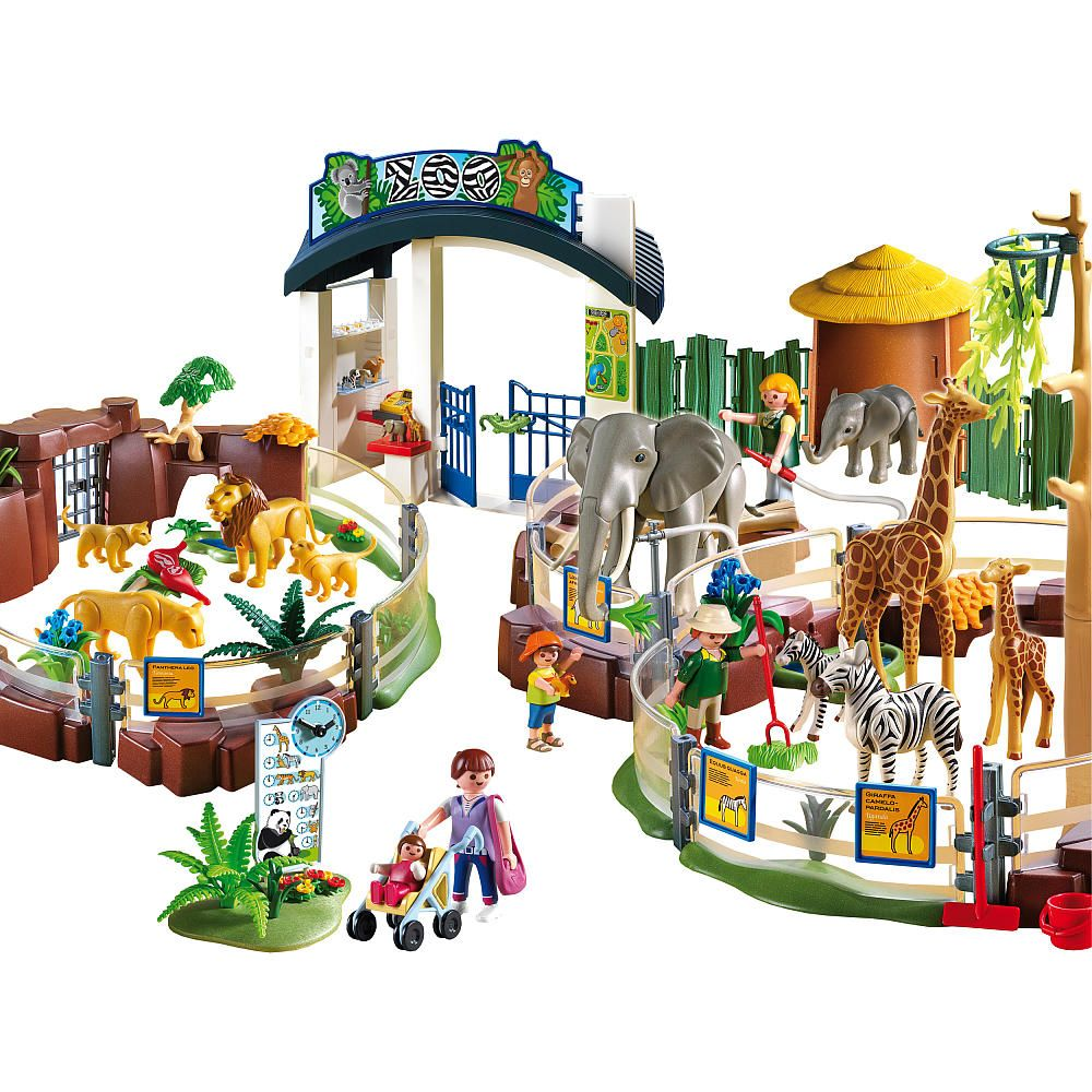 Toys R Us Küche Playmobil Large Zoo Set Playmobil Toys