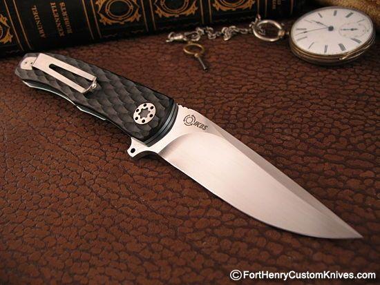 Custom Knife Maker Folder | ... Gentleman's Flipper - Fort Henry Custom KnivesFort Henry Custom Knives