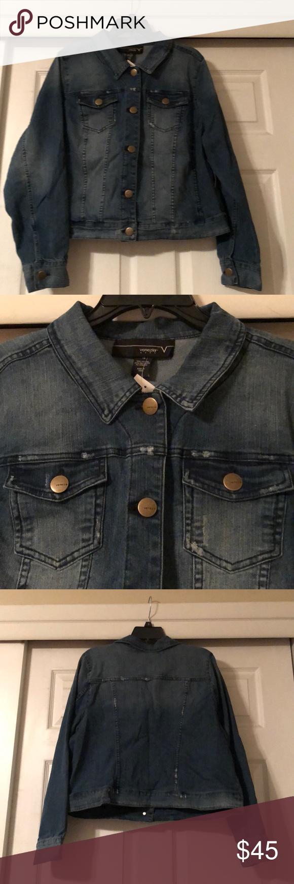 Venezia Denim Jean Jacket Size 18 By Lane Bryant Lane Bryant Denim Jean Jacket Clothes Design [ 1740 x 580 Pixel ]