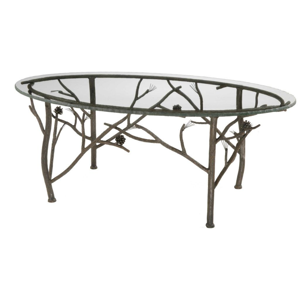 Metal Round Coffee Table Base Only
