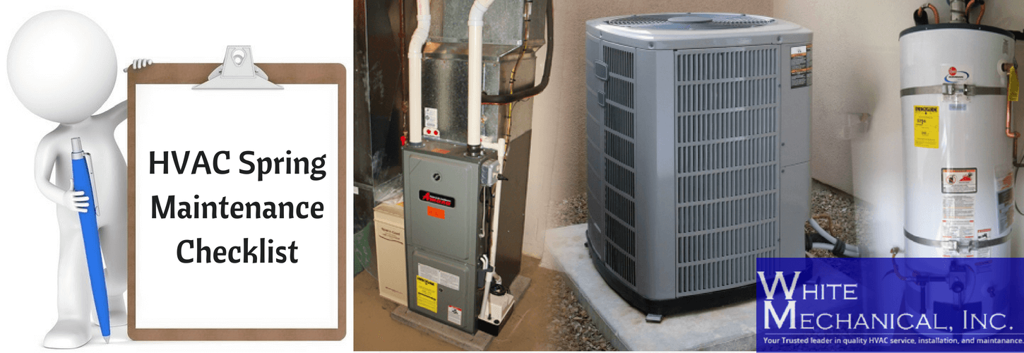 How To Maintain Your Hvac Unit During This Summer Add These Hvac Spring Cleaning Checklist To Your Spring Cleaning Hvac Maintenance Hvac Maintenance Checklist