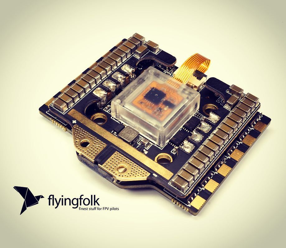 NOW AVAILABLE! NOX V2 F4 AIO FC damped Gyro 4x35A BlHeli32 Telemetry