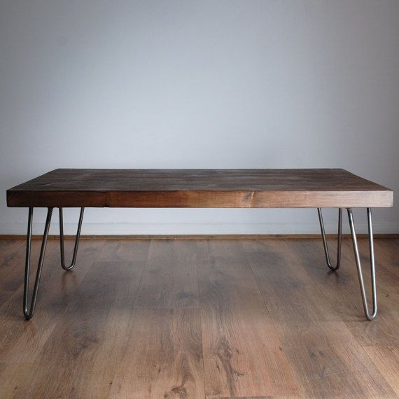 Fantastic Rustic Vintage Industrial Solid Wood Coffee Table Bare Metal Lamtechconsult Wood Chair Design Ideas Lamtechconsultcom