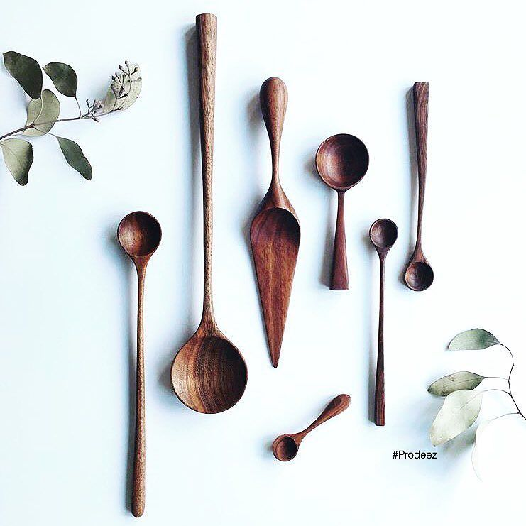 From Prodeez Product Design: Walnut Collection by Luke Hope. #furniture #tableware #spoon #wood #creative #design #ideas #designer #lukehope #hopeinthewoods #interior #interiordesign #product #productdesign #instadesign #furnituredesign #prodeez #industrialdesign #architecture #style #art