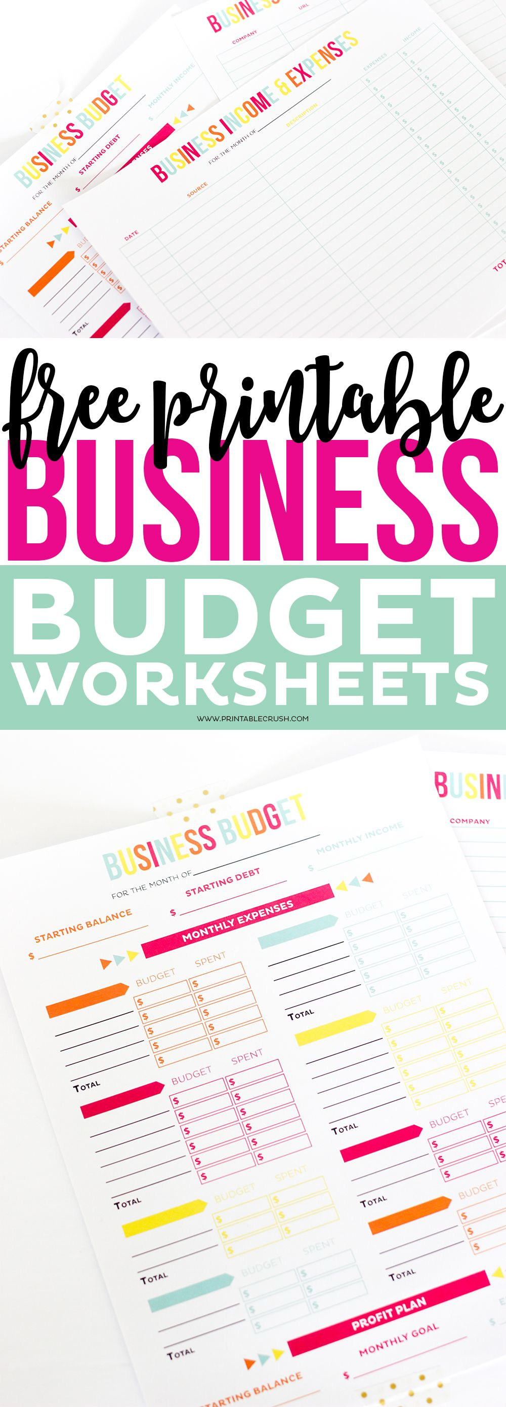 Make tax time a little less so with these FREE Printable Business ...
