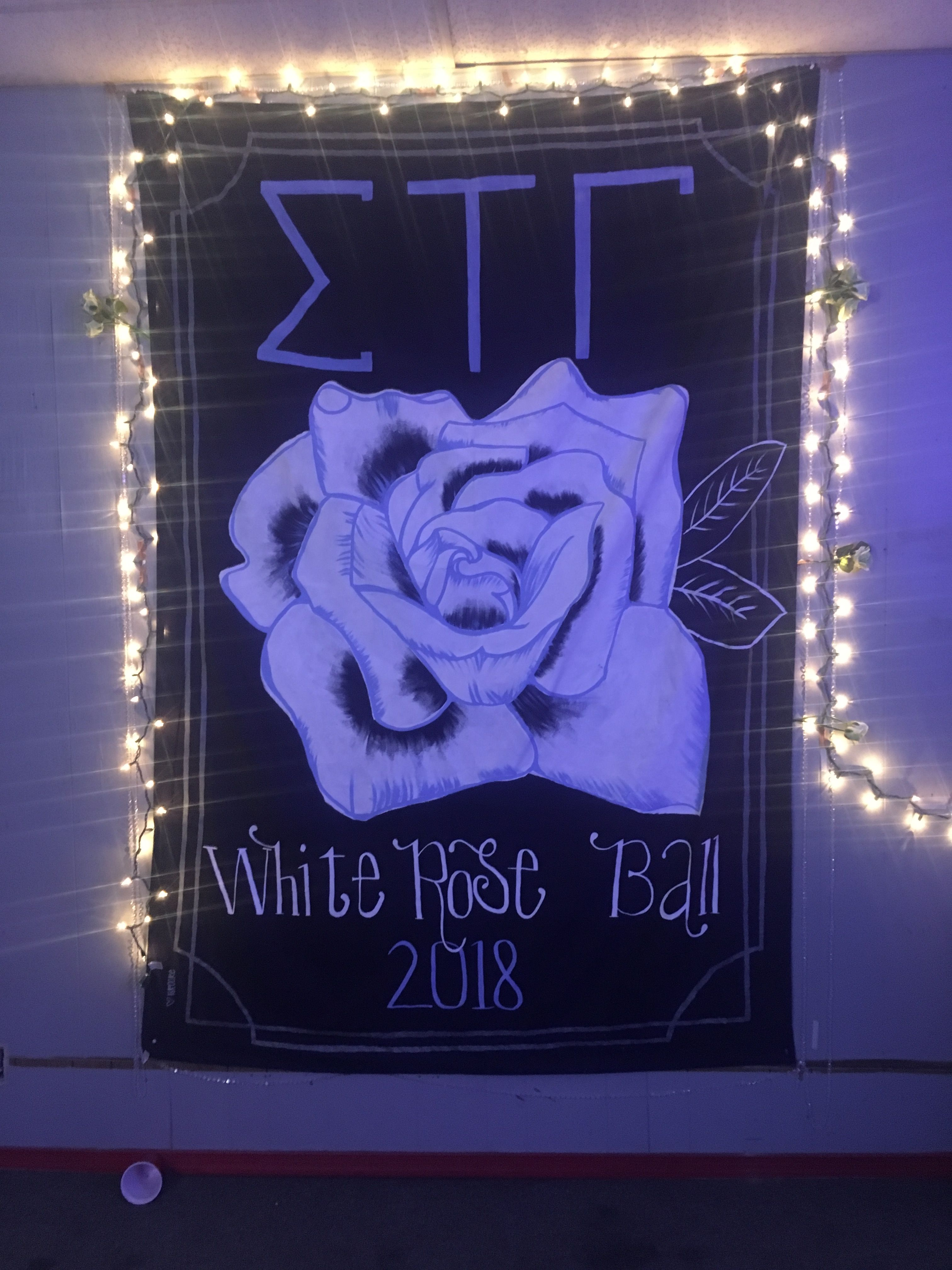 Sigma Tau Gamma White Rose Banner Tau Gamma Sigma Tau Gamma Sigma Tau
