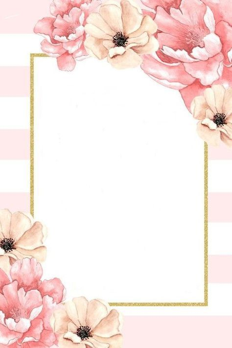 Skrapbuking Rukodelie Cvetochnye Kartinki Floral Background Flower Frame Wedding Cards