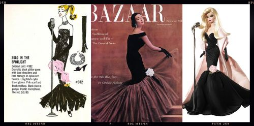 Solo In The Spotlight 1960 - Balenciaga 1952 - Silkstone Stunning In The Spotlight 2009