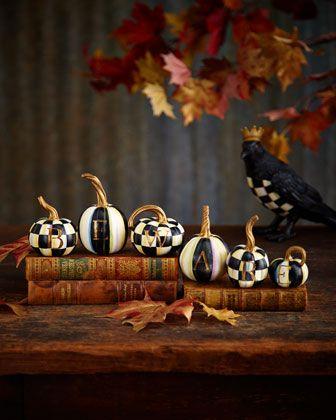 Beware+Pumpkin+Set+by+MacKenzie-Childs+at+Horchow.