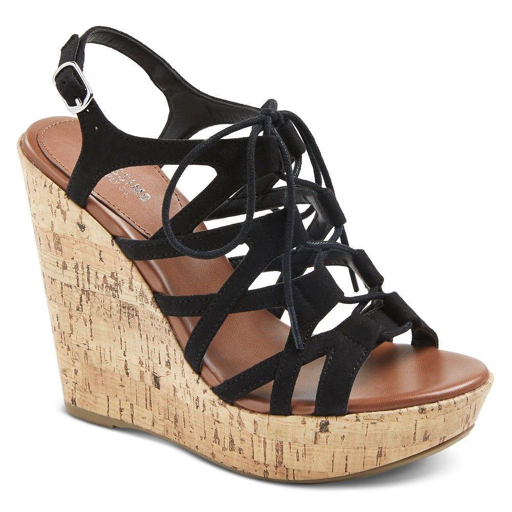 694baf76f2f Women s Selena Gladiator Sandals - Mossimo Supply Co. Black 9.5 ...