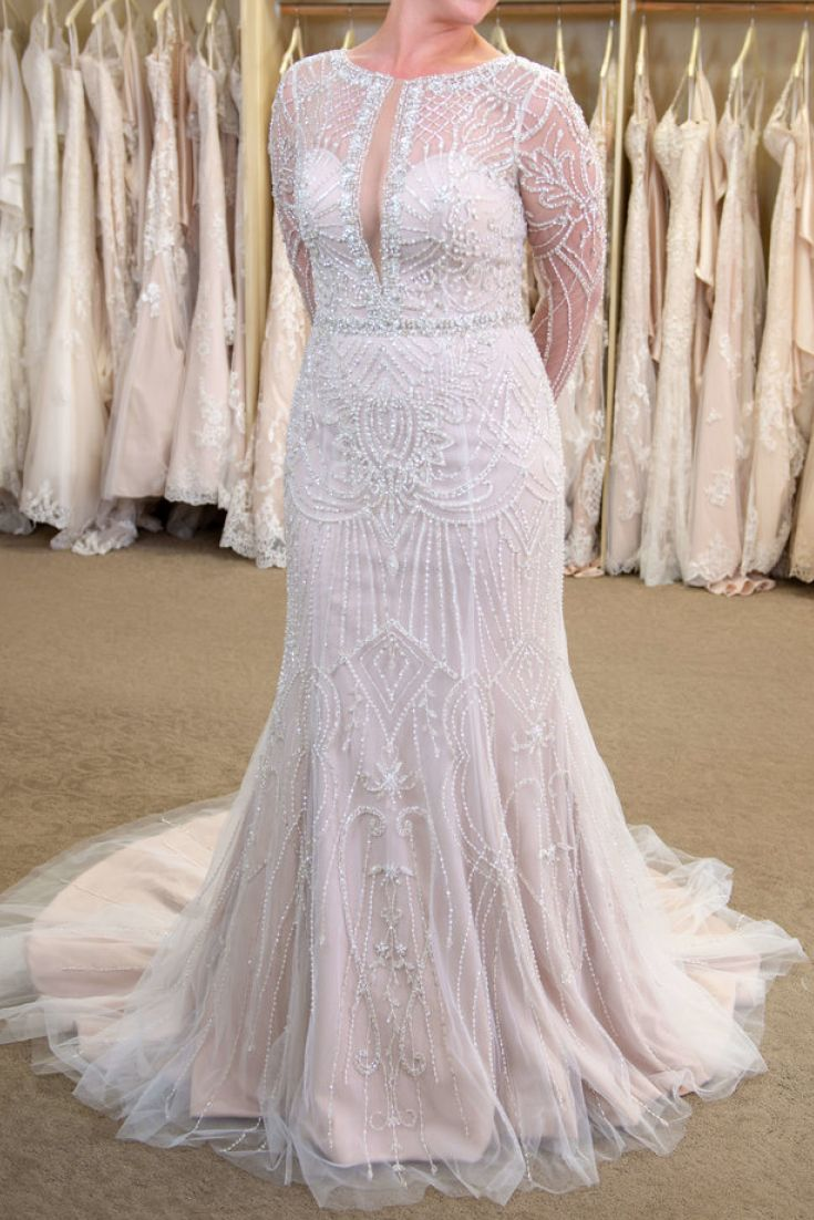 Casual wedding dresses with sleeves  The Jagger gown  when sleeves make a statement Wedding dress
