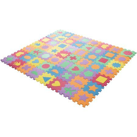 Auto Tires Shape Puzzles Foam Flooring Learning Shapes