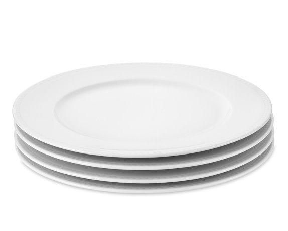 Apilco Beaded Hemstitch Porcelain Dinner Plates Porcelain Dinnerware Plates Dinner Plates