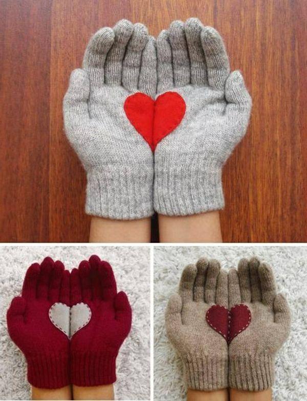 Handschuhe stricken - originelle und ausgefallene Ideen | Pinterest ...
