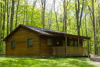 Exceptionnel This Wooden Cabin Is A Modern Cabin For Rent At Nockamixon State Park,  Pennsylvania.
