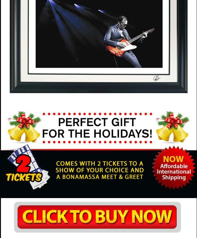Click here to watch Joe Bonamassa\'s holiday-themed blues rock song ...