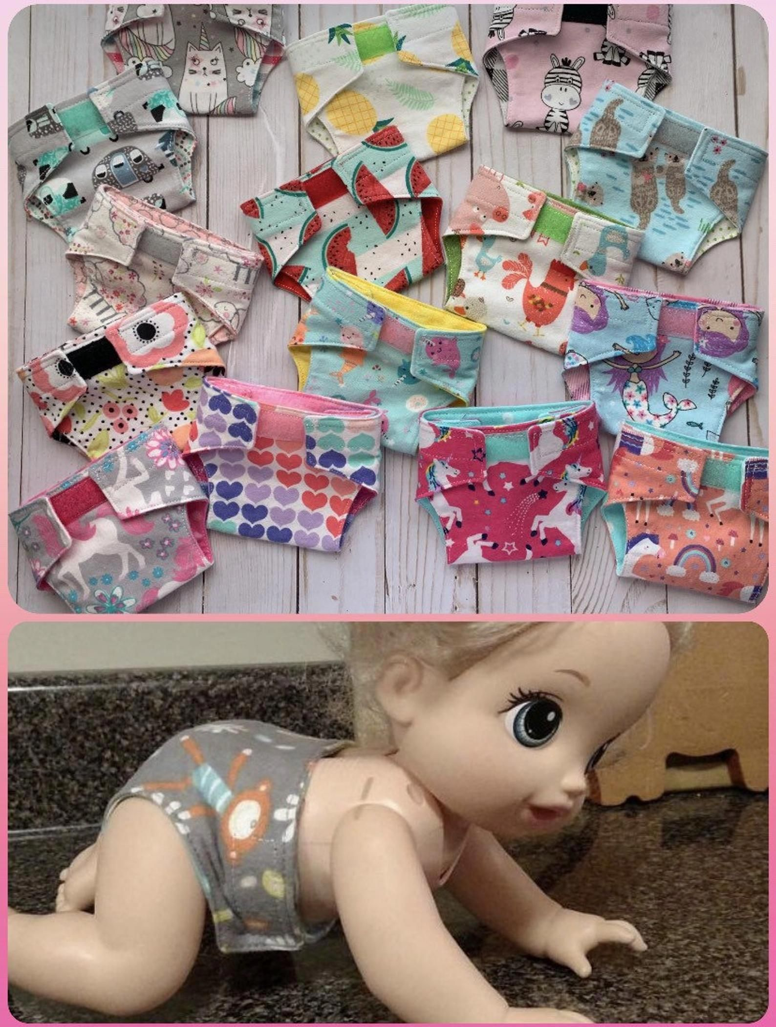 Baby alive diapersreusable doll diaperswashable toy
