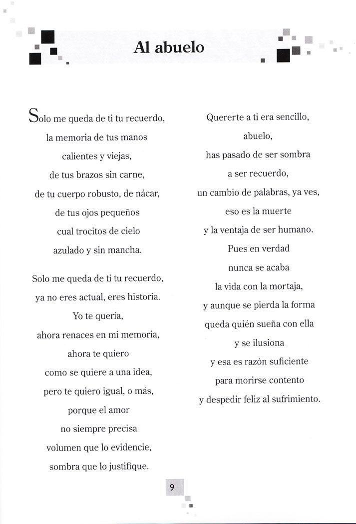 Memoria Poemas De Abuelos Fallecidos Wwwimagenesmycom