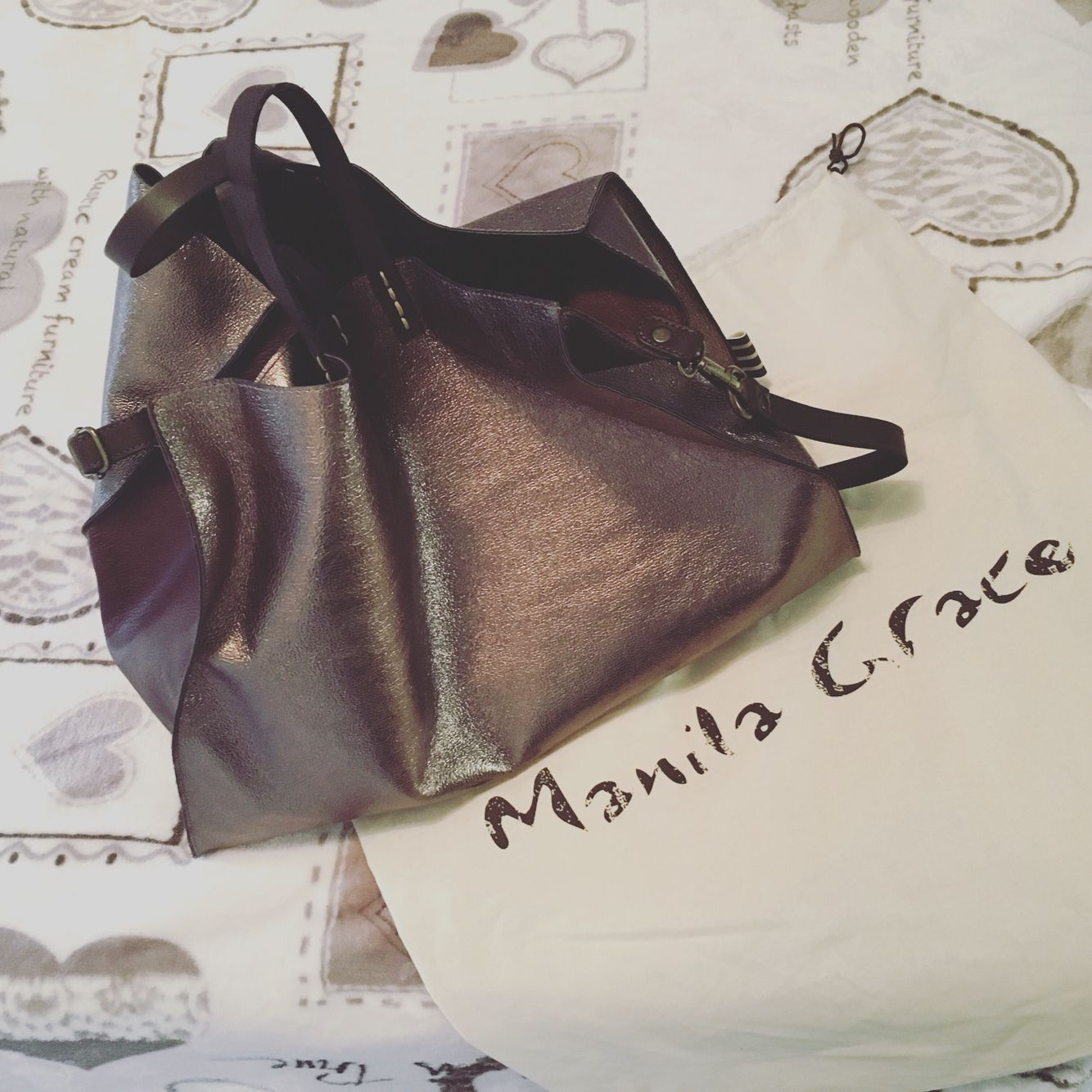 b90dc9b71310a New bag! Manila Grace! Felicia bag! Love it!