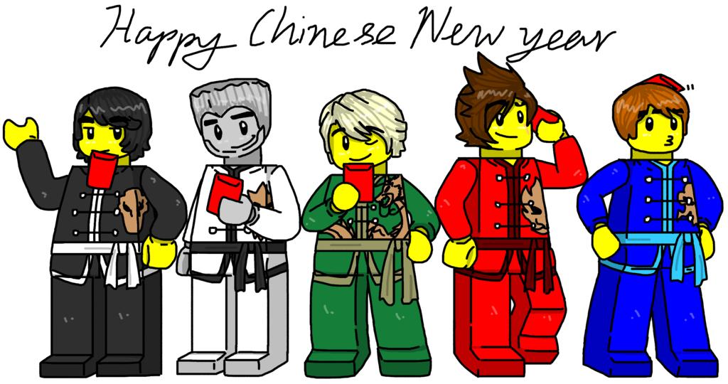 ninjago deviantart fight lego ninjago happy chinese new year by