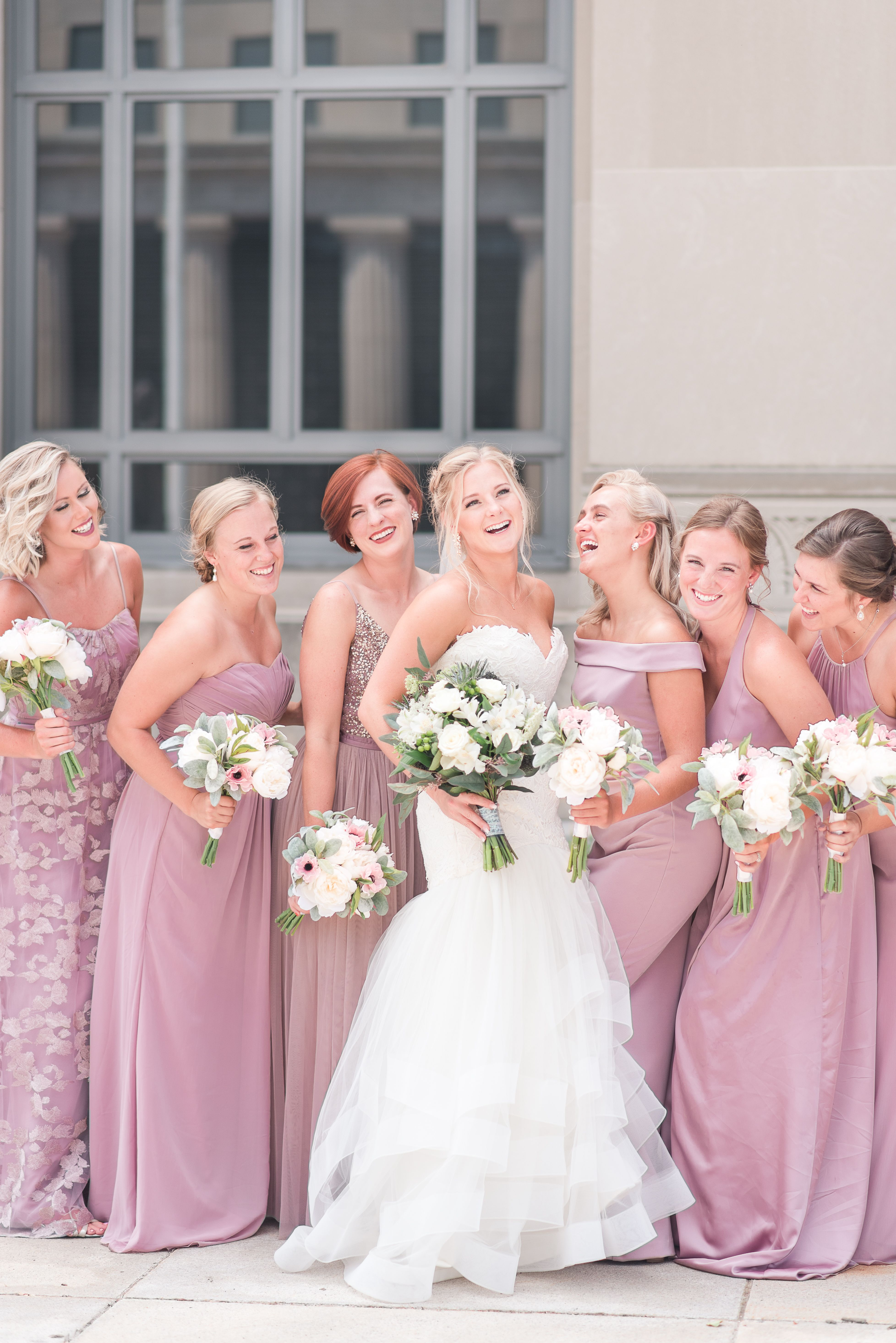 Church Wedding Gold Bridesmaids Dresses Summer Wedding Floral Large Bridal Wedding Photo Inspiration Wedding Photography Bridal Party Summer Wedding Floral