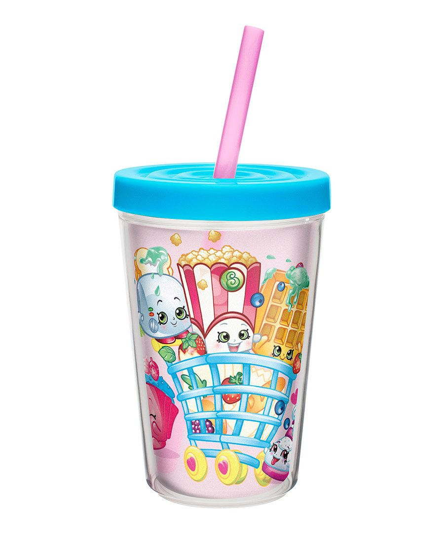 Look at this shopkins 13 oz double wall tumbler on for Cuartos para ninas tumbler