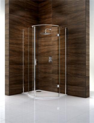 Cooke & Lewis Cascata P-Shaped Left Handed Shower Enclosure (H)1995 ...