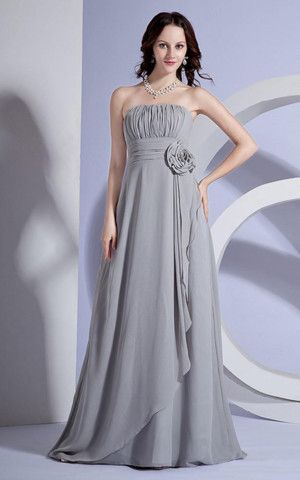 Sweep Zug luxus Brautmutterkleid/ Abendkleid im Empire ...