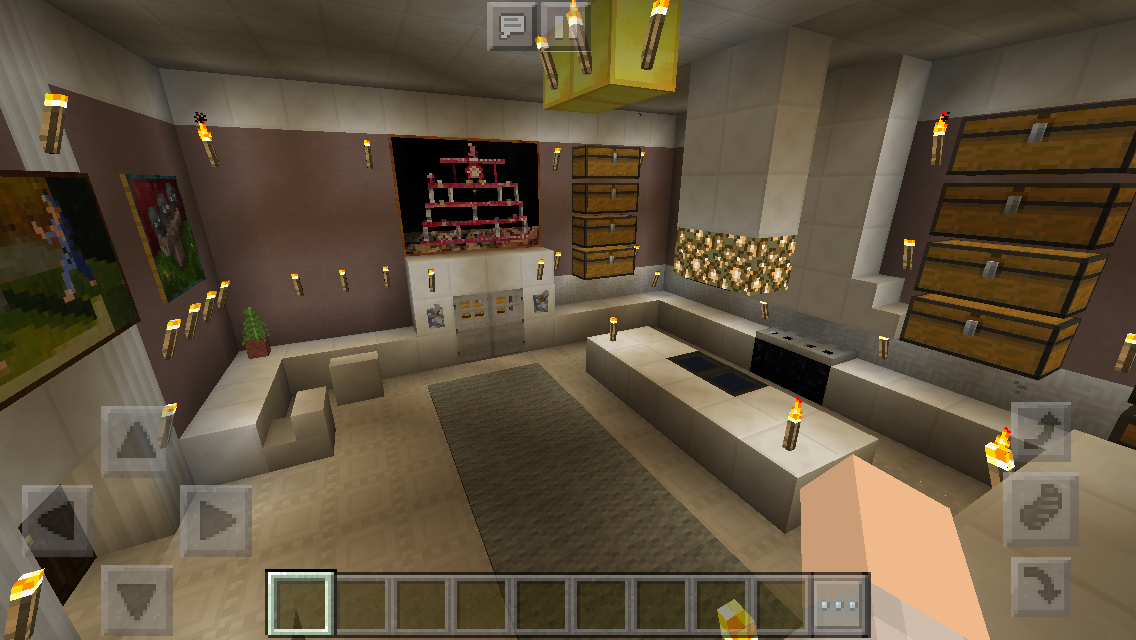 My Mansion Minecraft Kitchen Minecraft Mansion Mansion Kitchen