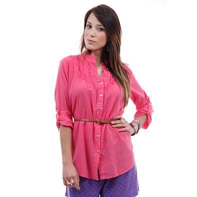 Camisa Mooncity 210176 - Pink