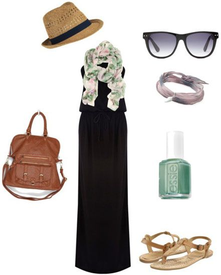 Accessories 101: 3 Ways to Style a Basic Maxi Dress ...