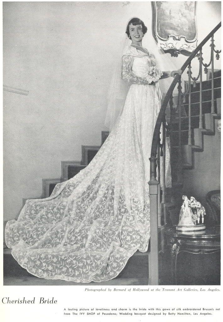 what-i-found: The Wedding March - 1950 - Bridal Drama | ~ Vintage ...