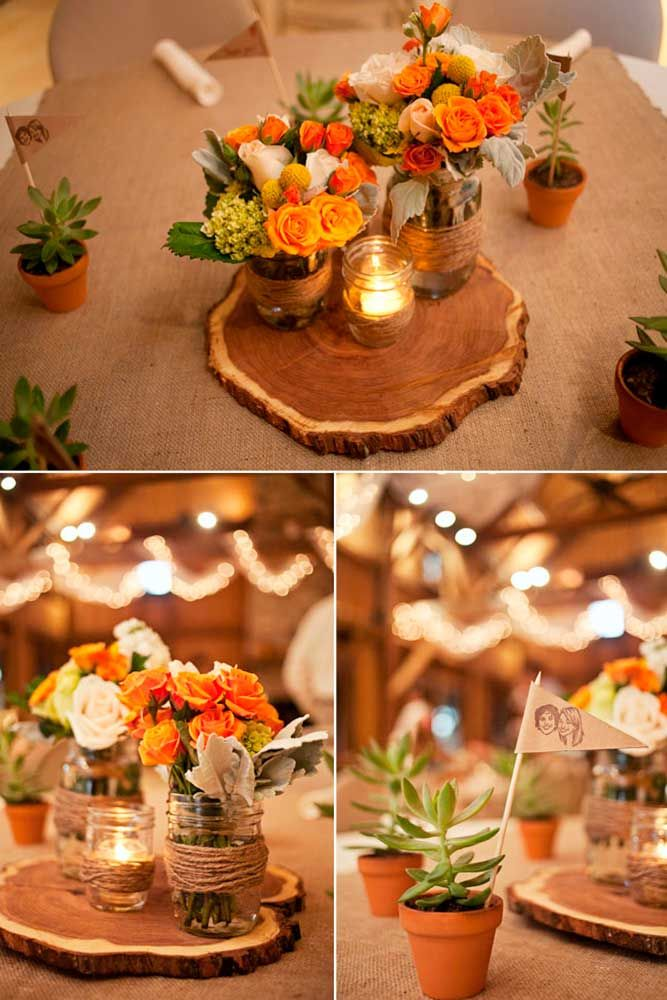 27 Romantic Ideas Of Fall Wedding Centerpieces For Your Big Day Fall Wedding Centerpieces Fall Wedding Tables Wedding Centerpieces Mason Jars