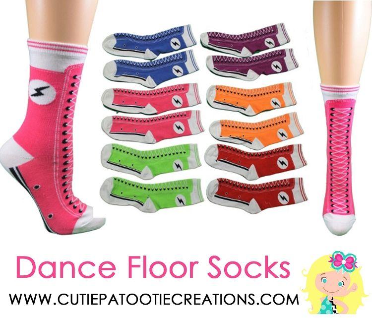 Dance Floor Party Socks - Converse