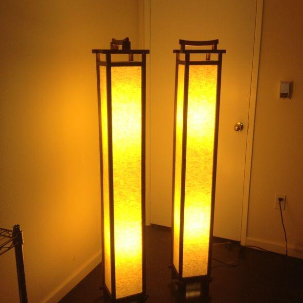 Japanese standing floor lamps. | Rumgr Favorites | Pinterest | Floor ...