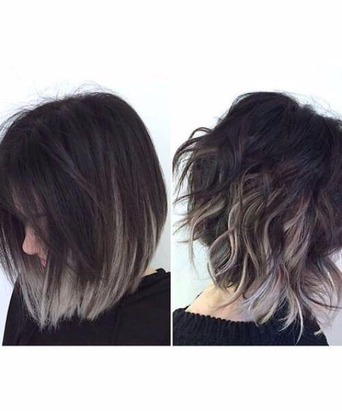 50 gro e kurze haare ombre optionen hair styles hair. Black Bedroom Furniture Sets. Home Design Ideas